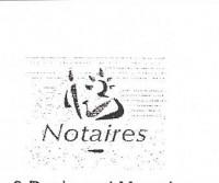 Traduction assermentée,   acte notarié de vente immobilière acte notarié de succession